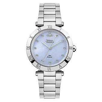 Vivienne Westwood Vv206blsl Montagu roestvrij stalen zilveren horloge