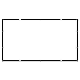 Projectie scherm materiaal opvouwbare anti-kreuk draagbare projector films scherm voor outdoor binnen
