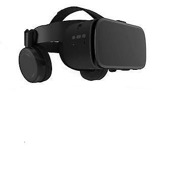 3d Glasses Virtual Reality Binocular Stereo Bluetooth Vr Headset Helmet