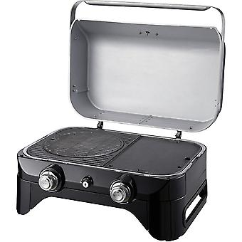 Campingaz Attitude 2100 LX Bordplate Gass BBQ med 2 stål brennere - svart