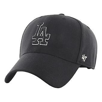 47 MLB LA Dodgers MVP Snapback Cap - Black