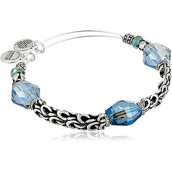 Alex and Ani The Mystical and The Magical Enchanted Expandable Wire Arctic Bangle Bracelet