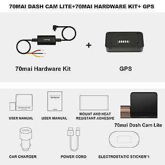 Dash Cam Lite hastighetskoordinater, GPS-moduler, opptaker parkeringsmonitor