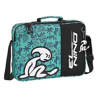 Briefcase El Niño Beach Party Black Green (6 L)