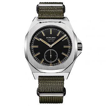 Watch D1 Milano COMMANDO Quartz - Silver Dial - 38 mm - MTNJ03