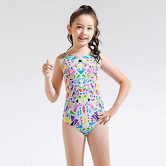 בגדי ים בנות בגדי ים סרבל ילדים משולש שחייה בגדי ים לילדים