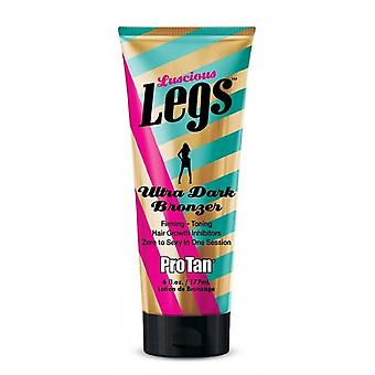 Pro Tan Lucious Legs Dark DHA Skin Firming and Hydrating Tanning Lotion 177ml