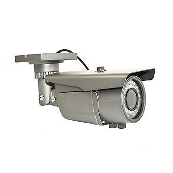 PNI IP1MP 720p videovalvontakamera, jonka ulkopuolella on 2,8 - 12 mm varifokaalinen IP
