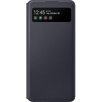 FengChun S View Brieftasche Abdeckung für A426B Galaxy A42 5G - Schwarz