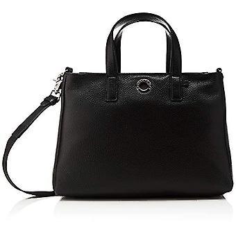 Mandarin Duck Mellow Leather, Dames Portemonnee, Zwart (Zwart), 12x19x28 cm (B x H x L)