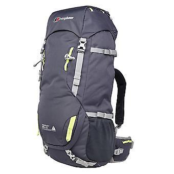 بيرغهاوس ريدجواي 65+10 المشي في الهواء الطلق المشي على ظهره حقيبة الظهر حقيبة رمادية
