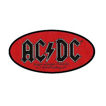 AC/DC - Patch standard du logo ovale