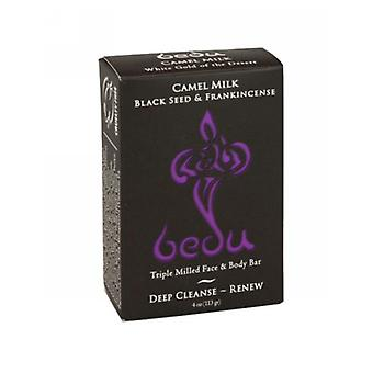 One with Nature Triple Milled Face & Body Bar, Black Seed & Frankincense 4 oz