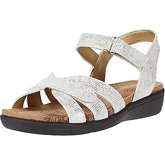 Soft Style Women's Shoes Pearle Fabric Open Toe Casual Slingback Sandals