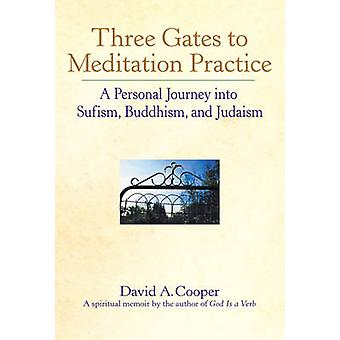 Three Gates to Meditation Practice  Personal Journey Through the Mystical Practices of Sufism Buddhism and Judaism by David A Cooper