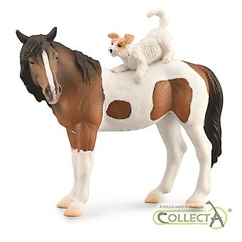 CollectA Mare & Terrier Animal Figurine Collectable Roleplay Toy Figure