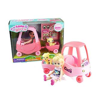 Doll with Pet Little Girls 110692