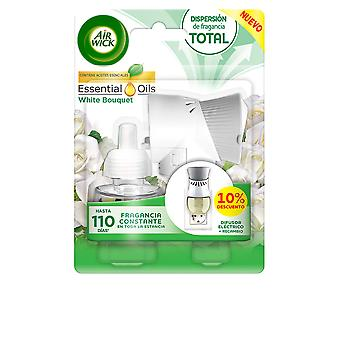 Air-wick Air-wick Ambientador Electrico Completo #white Bouquet 19 Ml Unisex