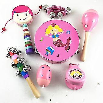 Baby Μουσικά Παιχνίδια Παιδικά Ξύλινα Νήπια Μουσικά Όργανα Εκπαιδευτικά Παιχνίδια Μάθησης (GROUP3)