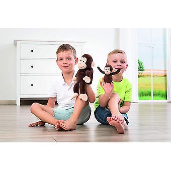 40440 - Mutter & Kind Handpuppe Cheeta & Bibi, Bewährt im Kindergarten