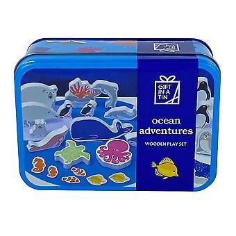 Ocean Adventures Træ Play Set for Kids   Luksus gaveartikel