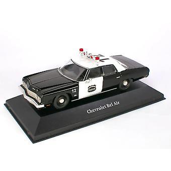 Chevrolet Bel Air (US Police 1973) diecast model bil