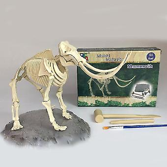 Mammoth Excavation Dig Science Kits Enfants Archéologie Biologie Party Jouets