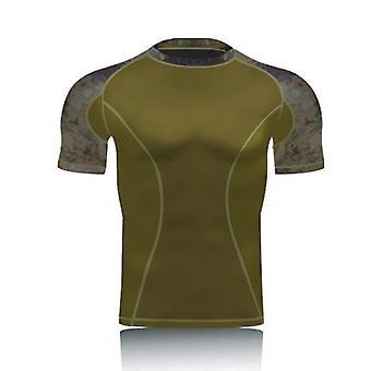 utrolig militær camo kortermet- taktisk kamp t skjorter