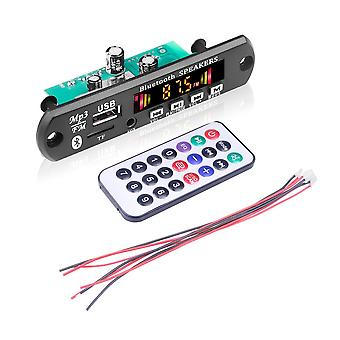 Folder Playback 12v With Power Amplifier Mp3 Decoder Board Color Screen