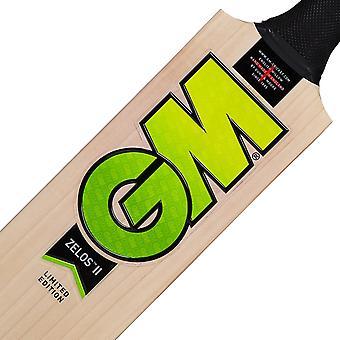 Gunn &Moore Zelos II DXM 404 Prime Engelsk Willow Cricket Bat - Harrow
