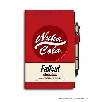 Fallout Hardcover Ruled Journal With Pen Gaming