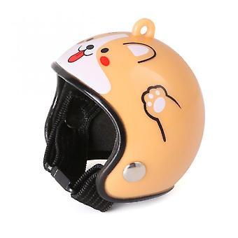 Pet Chicken Bird Helma Plast Legrační Kuřecí Přilba Ochrana hlavy Čepice Kuřecí Slepice Kachny Ptáci