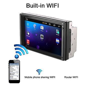 K5058 7 hüvelykes nagy kijelzős hd képernyős autó dvd gép GPS multimédia lejátszó szett