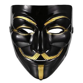 V Pour Vendetta Masque Guy Fawkes Halloween Mascarade Party Gesicht Kostüm Venise Mardi Gras Stil C