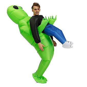 Vêtements gonflables extraterrestres pour enfants adultes Drôles de costumes d'Halloween Cosplay