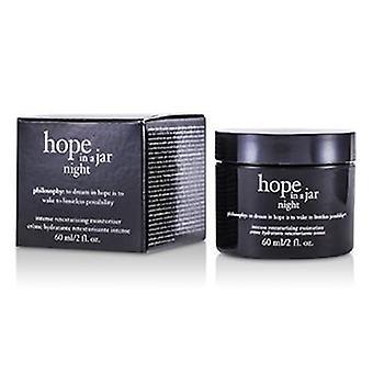 Hope In A Jar Night Intense Retexturizing Moisturizer - 60ml/2oz
