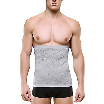 Bărbați Abdomen Trainer Centura antrenament slăbire Body Shaper Pierdere în Greutate Fitness Culturism Belly Talie Centura