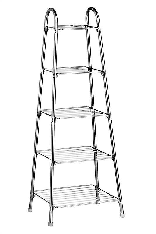Chrome 5 Tier Pan Stand