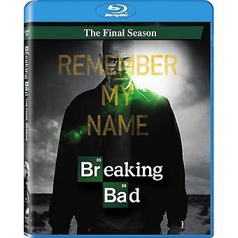 Breaking Bad: La saison dernière [Blu-ray] [BLU-RAY] importation USA