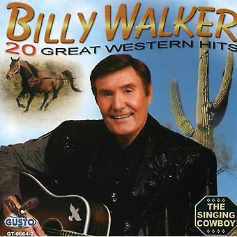 Billy Walker - 20 Great Western Hits [CD] USA import