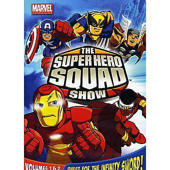 Super Hero Squad Show Vol. 1-2 [DVD] USA importar