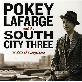 Pokey Lafarge & the River City Three - Middle of Everywhere [CD] USA import