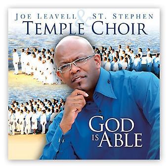 Joe Leavell & st. Stephen Temple Choir - God Is Able [CD] USA import