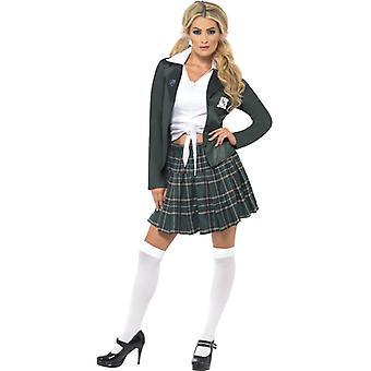 Adrettes Schulmädchen Kostüm