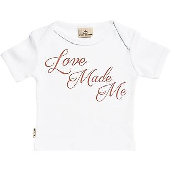 Spoilt Rotten Love Made Me Short Sleeve Baby T-Shirt