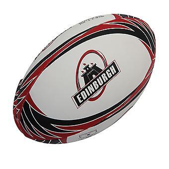 GILBERT Edinburgh Unterstützer Rugby-Ball - Größe 4