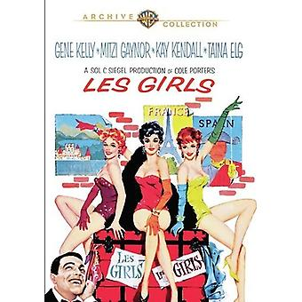 Importación de les Girls (1957) [DVD] los E.e.u.u.