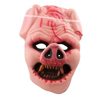 Strašidelný zombie ošípaných maska ošípané maska halloween