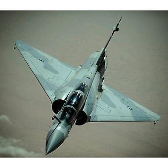 Uma aeronave Emirati Mirage 2000 Poster Print por Stocktrek imagens