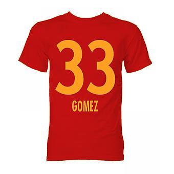 Mario Gomez Bayern München Held T-Shirt (rot)